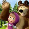 Mashka and the bear (video URL in description)