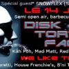 14.06.2014 -  Snowflex live Set @ DISK TORTION FACTORY - Fort du Mont-Bart (France)