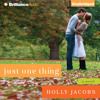 Just One Thing by Holly Jacobs