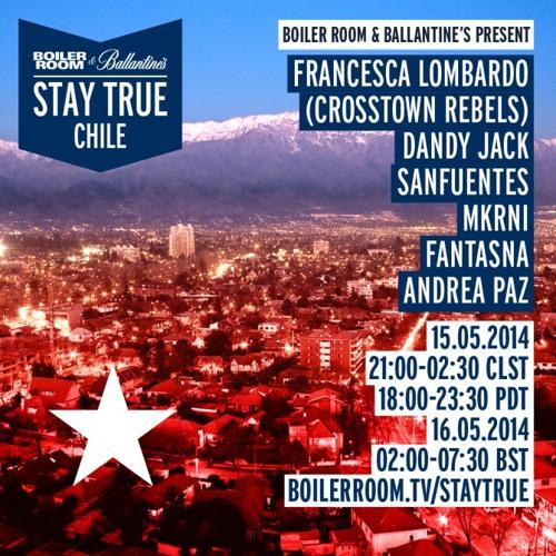 Fantasna Ballantine's Stay True X Boiler Room Chile Live Set