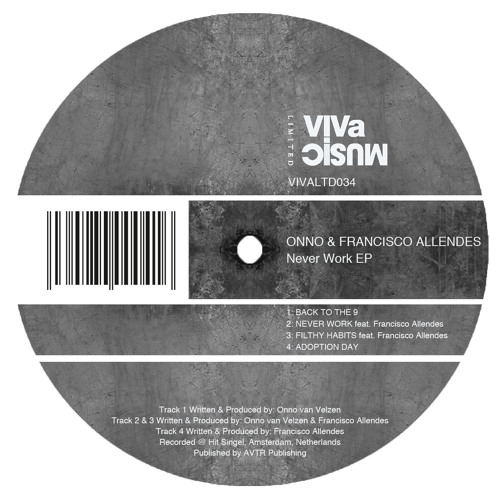 VIVALTD034 /// ONNO & Francisco Allendes - Never Work