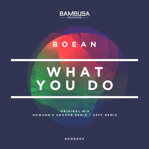 Boean - What You Do [Bambusa Records]
