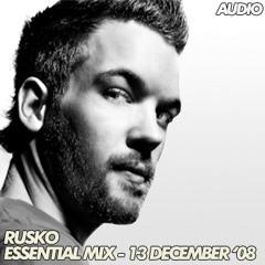 Rusko - Essential Mix - Radio 1 - 13.12.2008