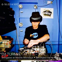 Boogaloo at Mobile Mondays Party NY 6-16-14 (All 45s live mix)