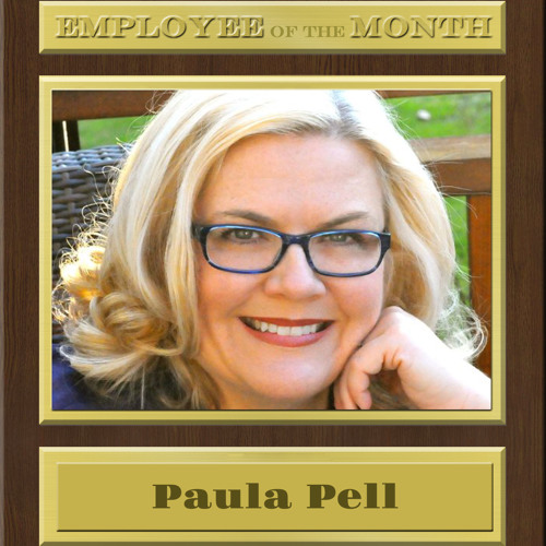 PAULA PELL on Employee of the Month