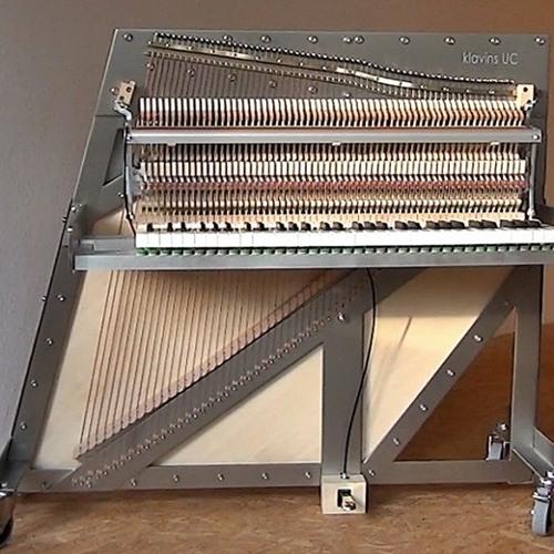 Una Corda Piano Sound Sample - Prelude b minor Bach / Siloti