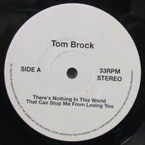 dubbit-sample: Tom Brock - There Is Nothing In This World That Can Stop Me