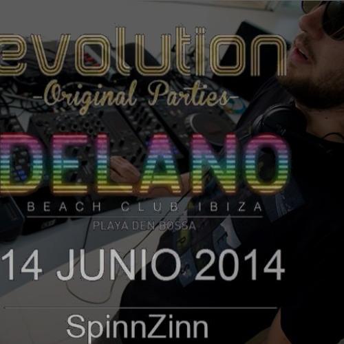 SpinnZinn LIVE @ Delano Ibiza 6 - 14 - 14