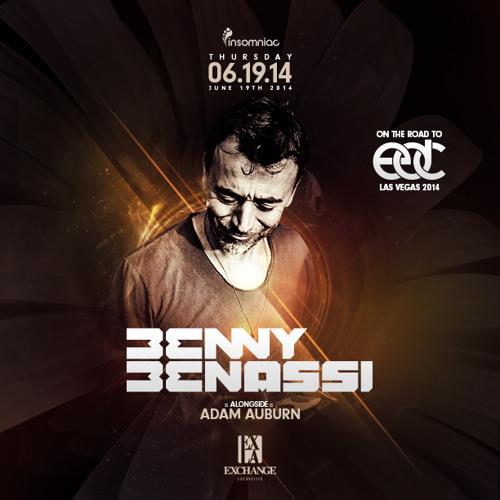 Road to EDC 2014 ● Live alongside Benny Benassi  @ Exchange LA
