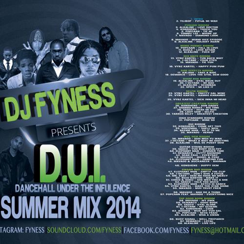 """DJ Fyness Presents """"D.U.I."""" Summer Dancehall Mix 2014"""