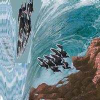 Flyin Away To Die In A Wave Artwork