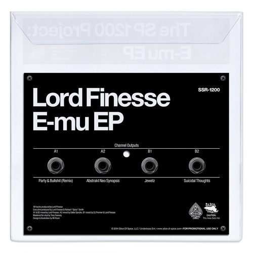 SSR-1200 - Lord Finesse - The SP1200 Project: E-mu EP (SAMPLER)