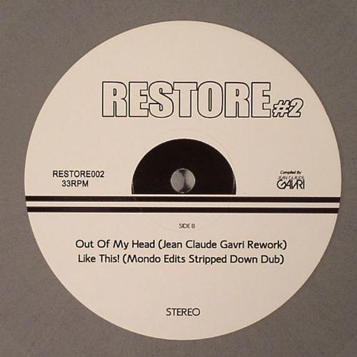 RESTORE #2 - Vinyl Only Killer Edits - 300 Copies - Now In Stores