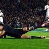 Three-try hero Julian Savea after the All Blacks win in Hamilton