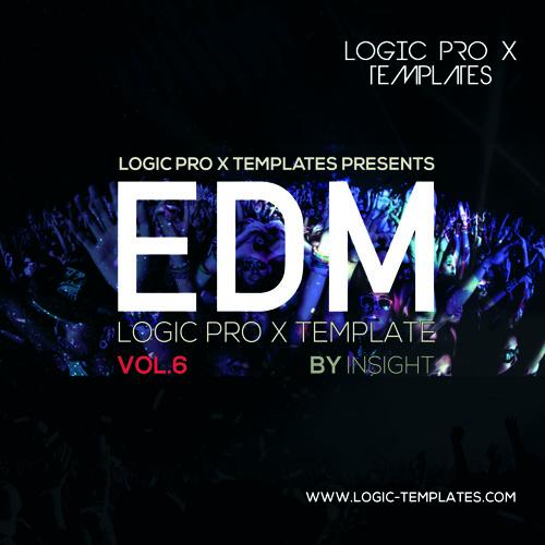 EDM Logic Pro X Template Vol.6
