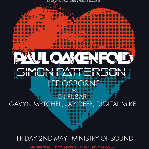 Simon Patterson - Live at Ministry of Sound - 02.05.2014