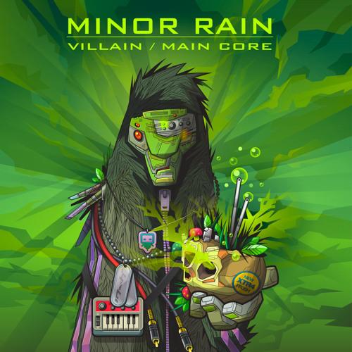 """Villain / Maincore EP [FUTURE FUNK] 12"""" color vinyl /exclusive clip/ OUT NOW !!!"""