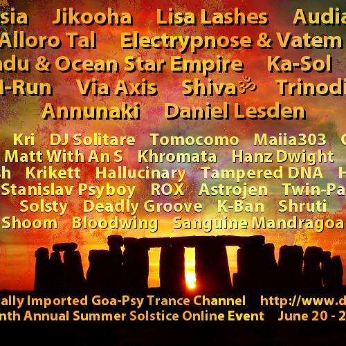 DI.fm Goa Psy Summer Solstice 2014