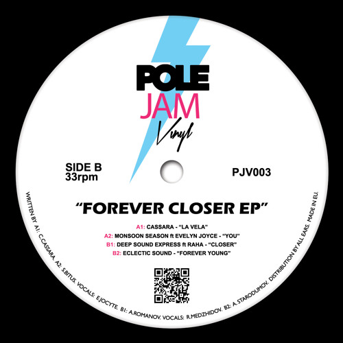 """B2 - Eclectic Sound – """"Forever Young"""" - 12"""" Vinyl"""