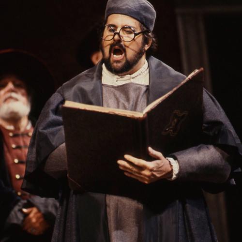 John Del Carlo as Kothner in MEISTERSINGER