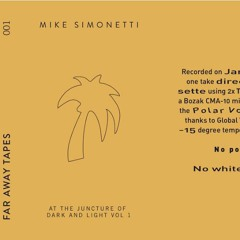 Mike Simonetti - At The Juncture Of Dark And Light - Volume 1
