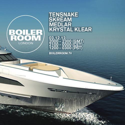 Boiler Room Tensnake 2013