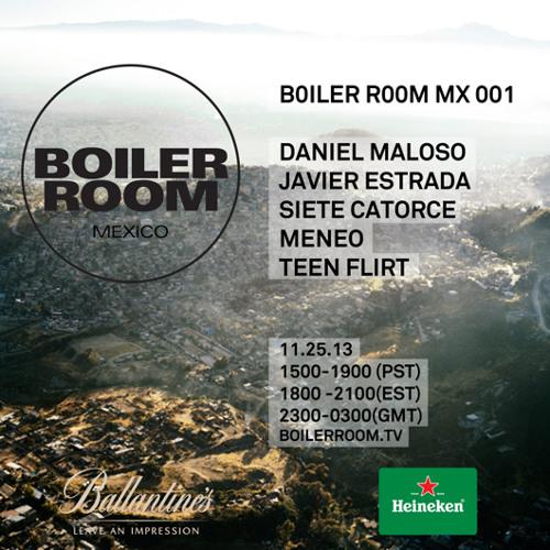 Teen Flirt Boiler Room Mexico Live Set
