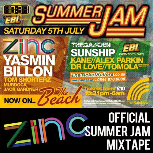 DJ ZINC - 10:31 - Summer Jam - Mixtape