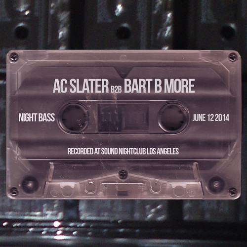 AC Slater & Bart B More - Live @ Night Bass June 2014