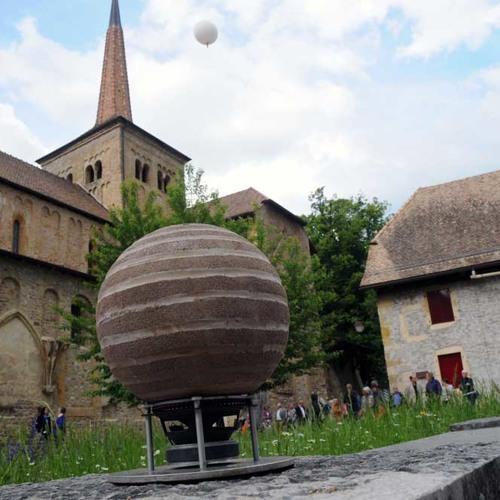 Ein Klanggarten im Kloster