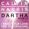 Calvin Harris Ft. Ellie Goulding - I Need Your Love (Dartha Remix) [MTM]