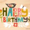 To George- Happy Birthday!