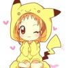 Pika Gir y Pikachu