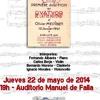 El abismo de los pájaros de O.Messieaen clar: Bernardo Moreno a Conservatorio Profesional de Música