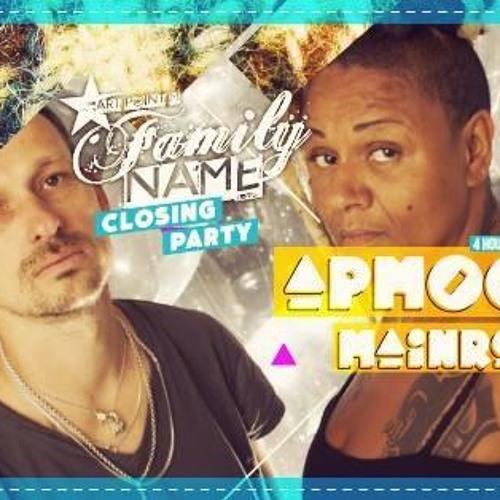 Mainro @ Magazine Club (Family N.A.M.E. Party) 28.06.14