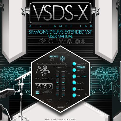 VSDSX VST (Simmons SDS-V Extended* Drum Synth emulation) * SDS3/7/1