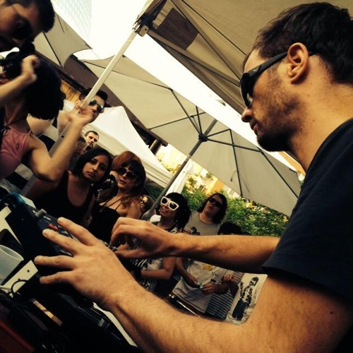 Sebastian Albrecht live @ Hushlamb Roof Top Party S.A.T. Montreal 07-06-14