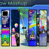 Mario Kart Rainbow Road Mashup/Mix - Across Generations [8 Themes In One]