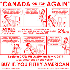 Canada - Up On Top Again   k.d. lang   WILL ARNETT   ALEX TREBEK   KIDS IN THE HALL   COBIE SMULDERS