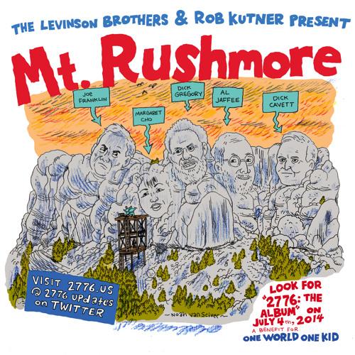 Mt. Rushmore | MARGARET CHO | DICK GREGORY | DICK CAVETT | JOE FRANKLIN | AL JAFFEE