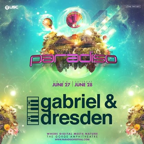 Gabriel & Dresden Live At Paradiso Festival 06 - 28 - 14