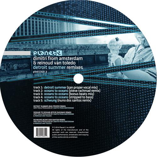 Detroit Summer Remix (San Proper Vocal mix) SoundCloud EDIT