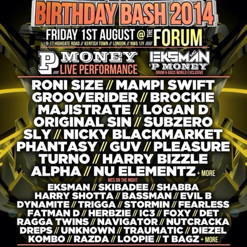 DJ Radius - Eksman's Birthday Bash 2014 Comp Entry (winning entry)
