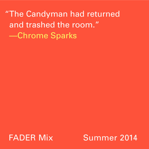 FADER Mix: Chrome Sparks