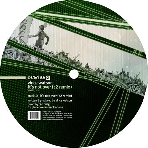 Vince Watson - It's Not Over (C2 REMIX) SoundCloud_Pre-Beat fade