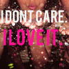 I Don't Care & I Love It ( DJ Tone Remix)(Preview)