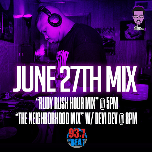 937TheBeat JUNE 27 2014 8pm Mix
