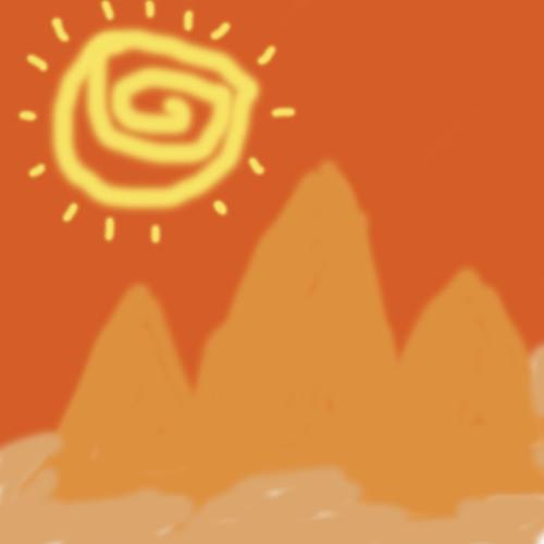 Tuesday Sunset Pyramids (Improv)