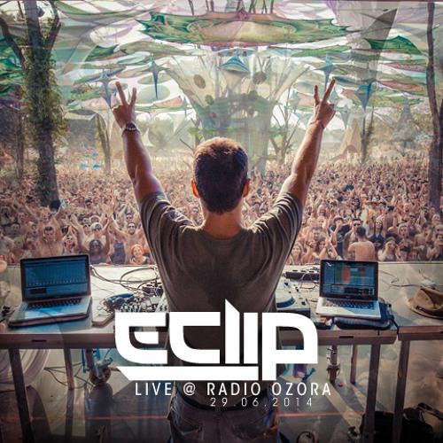 E-Clip Live @ Ozora Radio Show 2014
