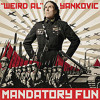 Weird Al Yankovic album Mandatory Fun - Inactive / First time